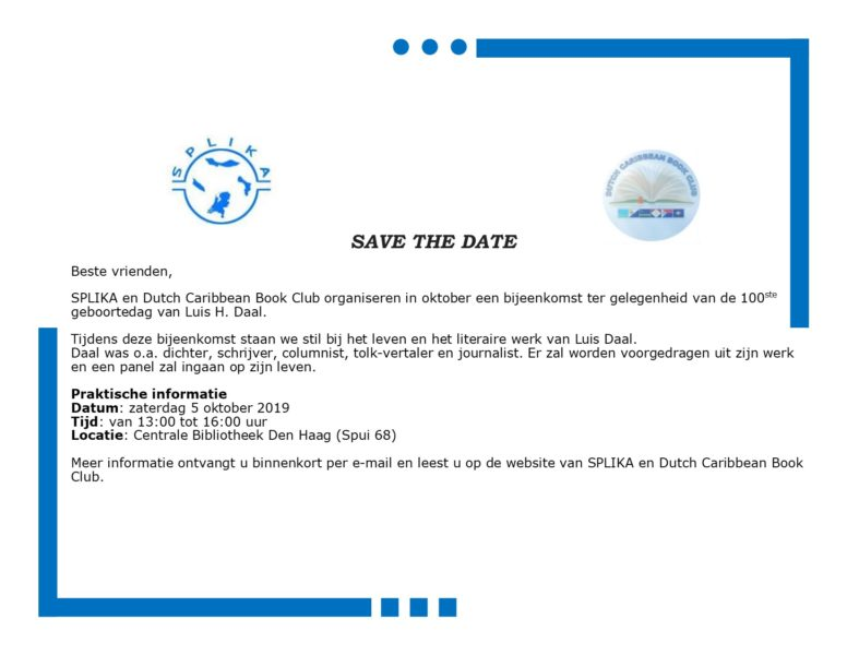save the date LD100