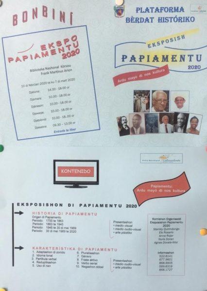 Eksposishon papiamentu 2