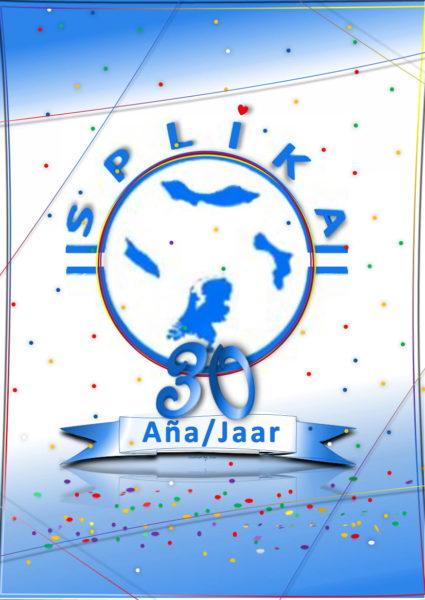 2020 09 06 = SPLIKA Logo 30 Aña_Jaar - ku konfèti - A6 formaat - Lu Def-1